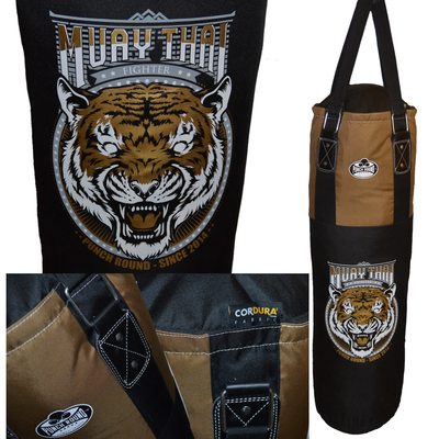 Punch Round™ Thai Tiger Punching Bag Bokszak 120 cm Cordura®