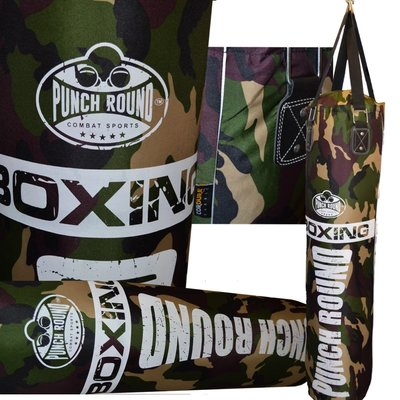 Punch Round™ Camo Punching Bag Bokszak 150 cm Cordura®