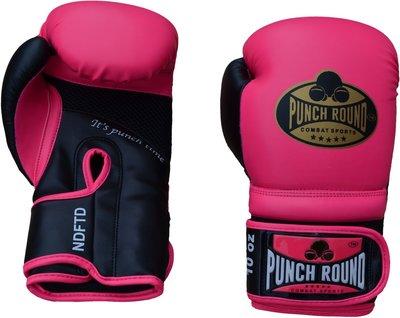 Dames Kickboks Handschoenen Pink Gold Punch Round™ Combat Sports