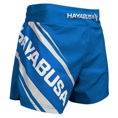Hayabusa Muay Thai Kickboxing Shorts 2.0 Blue Kickboks Broekjes