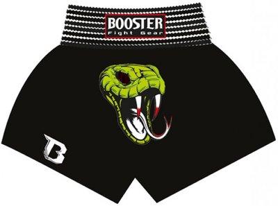 Booster Kickboks Broekjes Snake Black Thaiboks Shorts