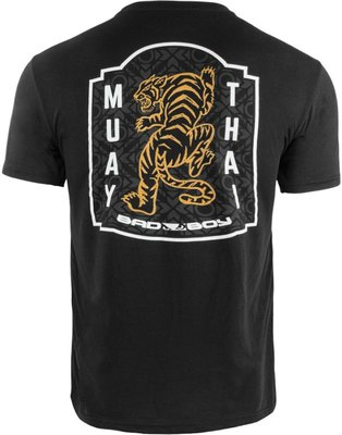 Bad Boy Muay Thai Tiger T Shirts Zwart Kickboks T Shirts