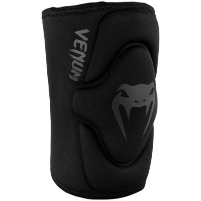 Venum Kniebeschermers Kontact Lycra Gel Knee Pads Black on Black