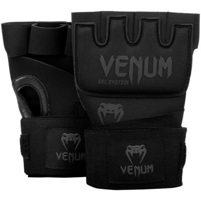 Venum Binnenhandschoenen Gel Kontact Glove Wraps Black on Black