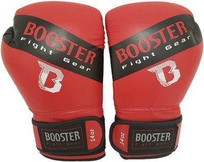 Booster Bokshandschoenen BT Sparring Red Black