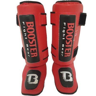 Booster Kickboks Scheenbeschermer Thai Striker Red Black