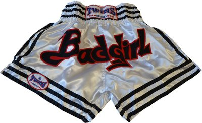 Twins Thaiboks Broekje Dames Muay Thai Short Bad Girl size XL