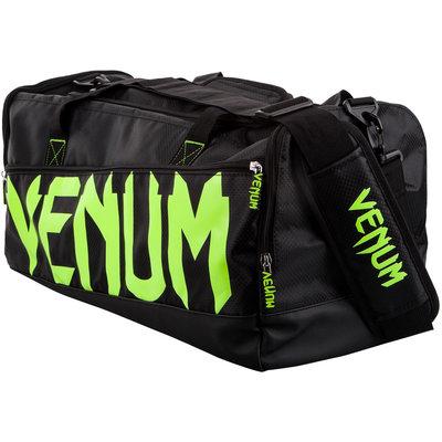 Venum Sporttas Sparring Sports Bag Black Neo Yellow Gym Bag