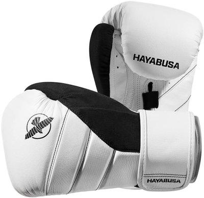 HAYABUSA T3 BOKSHANDSCHOENEN BOXING GLOVES WHITE