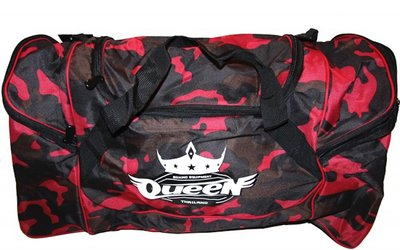 Queen GBQ 1 Training Sporttas Dames Gym Bag Red Camo
