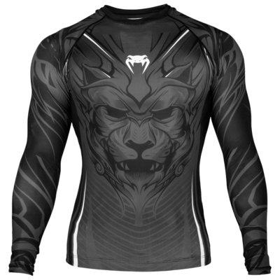 Venum Compression Shirt Bloody Roar Rashguards L/S Grey