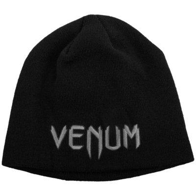 Venum Beanie Classic Black Grey Muts Venum Fightshop