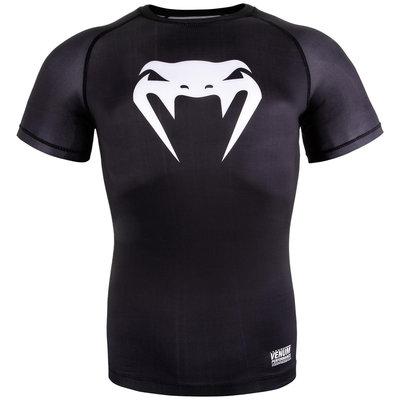 Venum Contender 3.0 Compression T Shirts S/S Zwart Wit