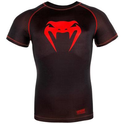 Venum Contender 3.0 Compression T Shirts S/S Zwart Rood