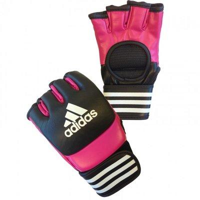 Adidas Ultimate MMA Handschoenen Dames Roze Zwart