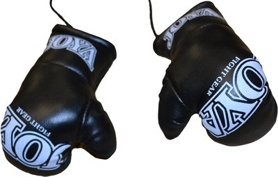 Joya Carhanger Mini Gloves Black White Joya Fightgear