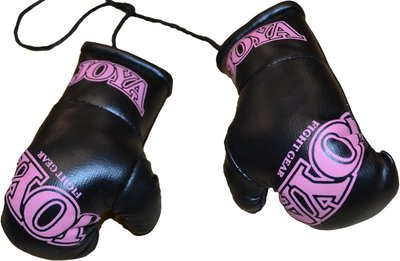 Joya Carhanger Mini Gloves Black Pink Joya Fightgear