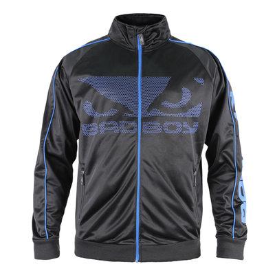 Bad Boy All Around Trainingsjack Track Jacket Black Blue