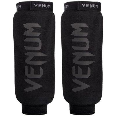 Venum Scheenbeschermers Kontact Shin Guards Black on Black