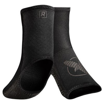 Hayabusa Ashi Foot Grips Ankle Support Black on Black