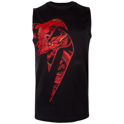 Venum Tank Top Giant x Dragon Zwart Rood Venum Clothing