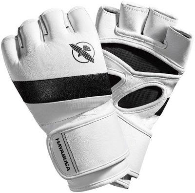 Hayabusa MMA Handschoenen T3 4OZ MMA Gloves Wit Zwart