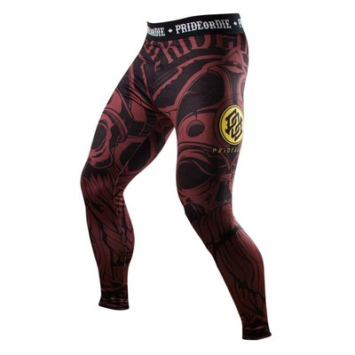 Pride or Die Legging Brotherhood Spats Tights Compression Pants