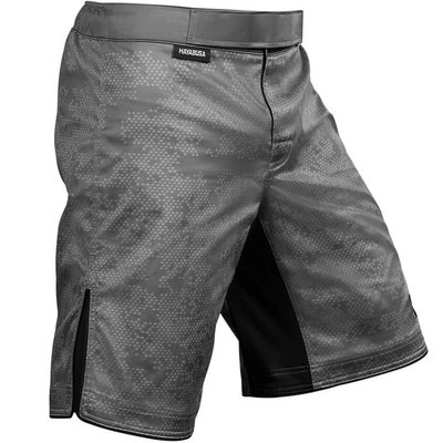 Hayabusa Hexagon Training Fight Short Zilver Grijs