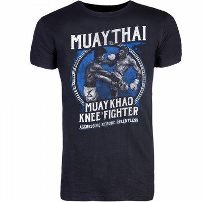 8 Weapons T Shirt Muay Thai Kao Kickboks Kleding