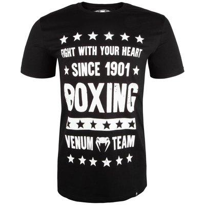 Venum Kleding Boxing Origins T Shirt Zwart Vechtsport Shop