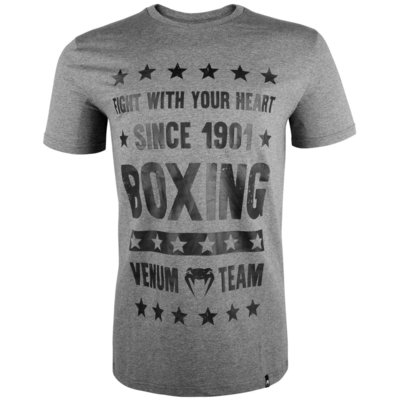 Venum Boxing Origins T Shirt Grijs Venum Fightshop