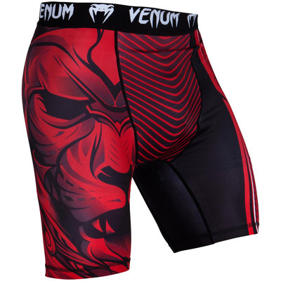 Venum Compression Vale Tudo Short Bloody Roar Rood
