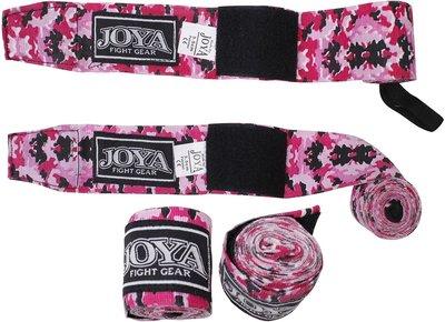 Joya Bandages Boxing Hand Wraps Camo Roze 350 cm