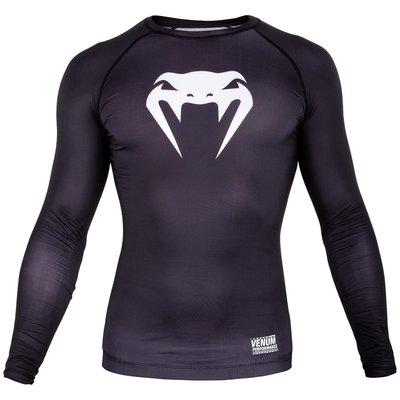 Venum Kleding Contender 3.0 T Shirts L/S Zwart Wit