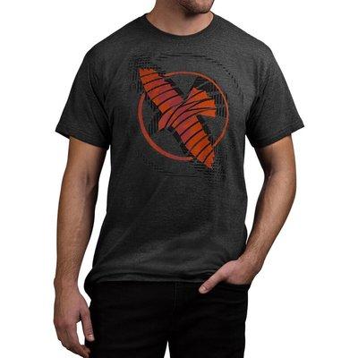 Hayabusa Logo T Shirt Zwart Rood Hayabusa Fightwear