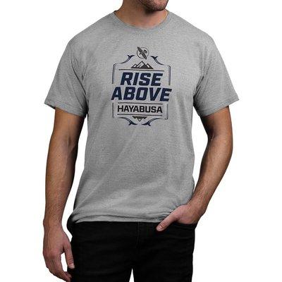 Hayabusa Vechtsport Kleding T Shirt Rise Above Grijs