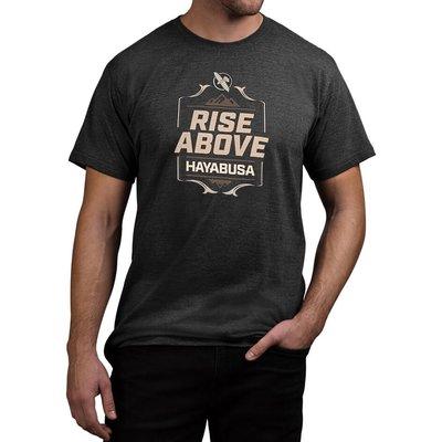 Hayabusa Vechtsport T Shirts Rise Above Zwart