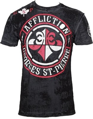 Affliction GSP Rush Union Reversible T Shirt