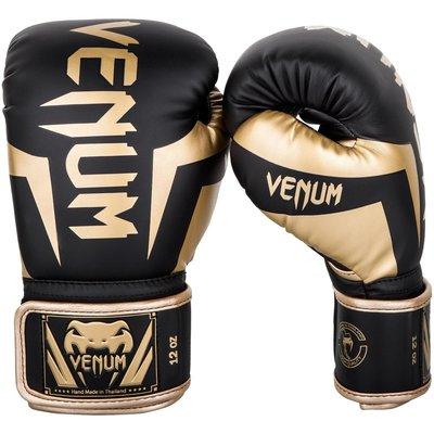 Venum Elite Bokshandschoenen Zwart Goud