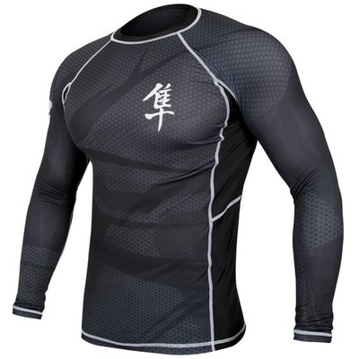 Metaru 47™ Rashguard Hayabusa® Long Sleeve Black
