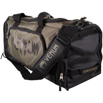 Venum SporttasTrainer Lite Gym Bag Khaki Zwart