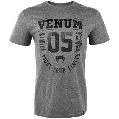 Venum Origins T-shirtGrijs ZwartVenum Vechtsport Kleding