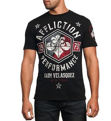 Affliction Cain Velasquez Team T Shirts MMA Affliction MMA Kleding