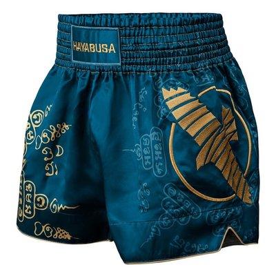 Hayabusa Kickboks Broekjes Falcon Muay Thai Short Blauw