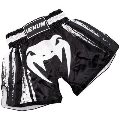 Venum Kickboks Broekje Bangkok Spirit Thaiboks Shorts Zwart