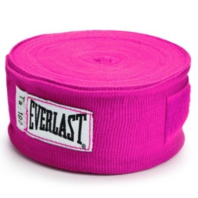 Everlast Boksbandage Dames Hand Wraps 300 cm Pink - Roze