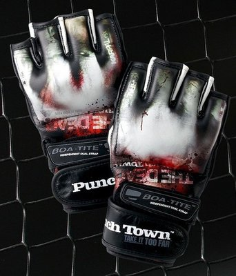Karpal eX TAT2 MKII THE DEAD MMA Gloves by PunchTown MMA Fightwear
