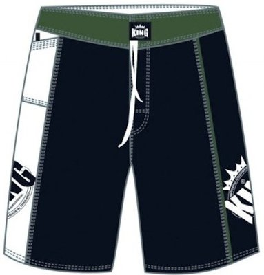 MMA Shorts King MMA-1 Fightshorts Black Trunk
