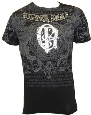 Silver Star GSP Foil T Shirt Black