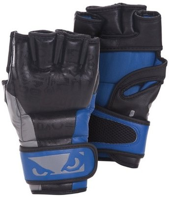 Bad Boy Legacy MMA Gloves Black Blue MMA Handschoenen